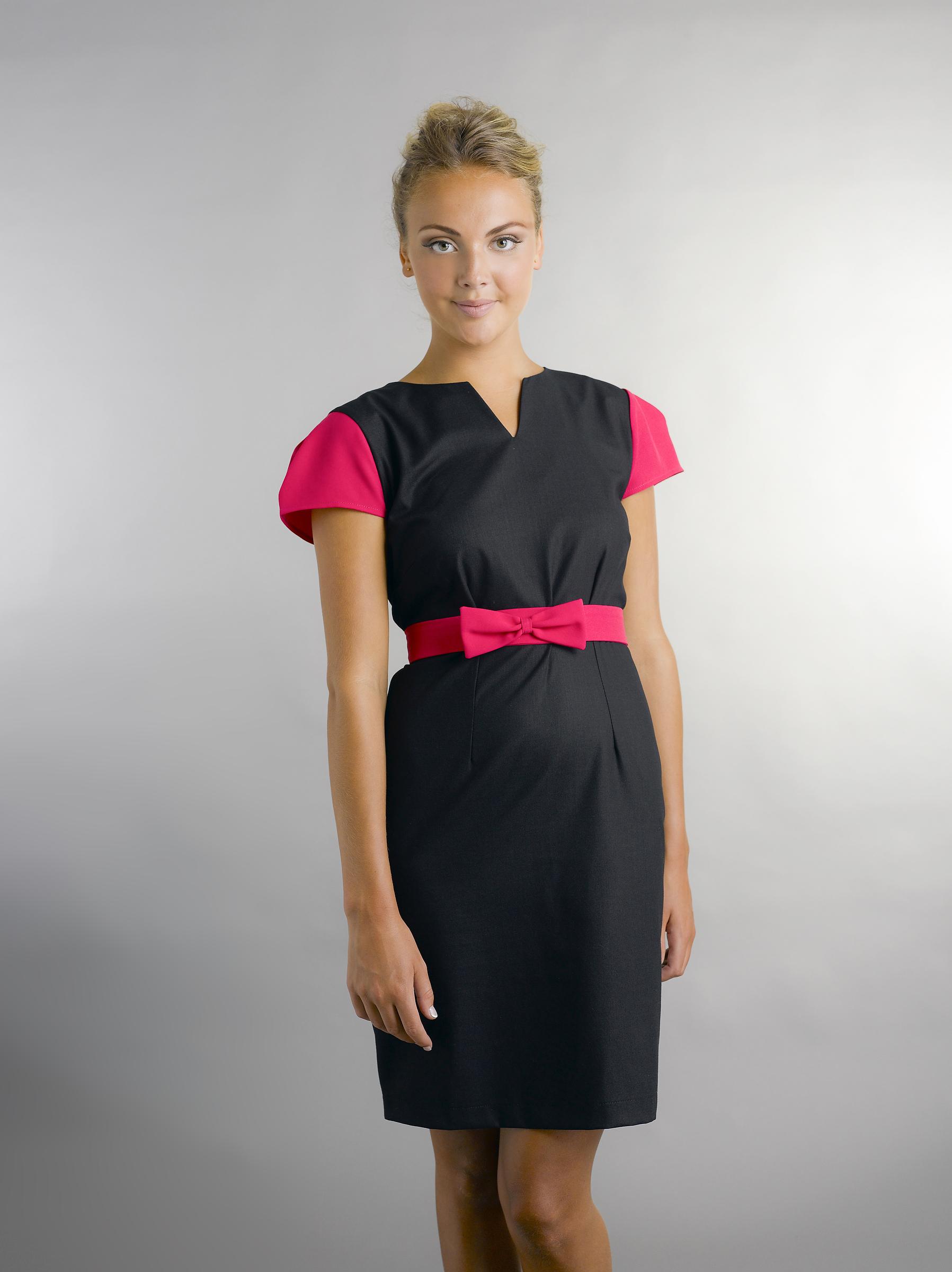 The uniform lara luxe workwear for Spa employee uniform